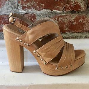 Steve Madden Platform Sandal Size 8M